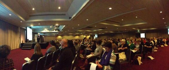 Packed Celebrity Room at the Conference