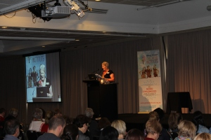 CEO Sandie de Wolf at The Good Childhood Conference