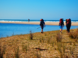 Hiking on the Gippsland Wilderness Program