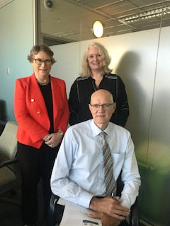 Youth Court_Adelaide_L-R Judge Penny Eldridge, Clare Ryan and Magistrate Oliver Koehn