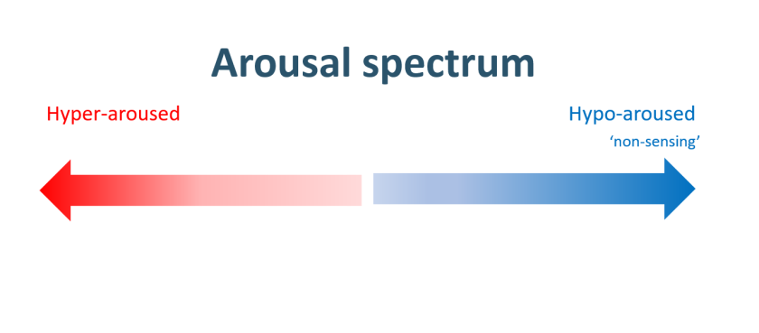 Arousal spectrum visual