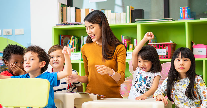 Teaching self-regulation in early childhood